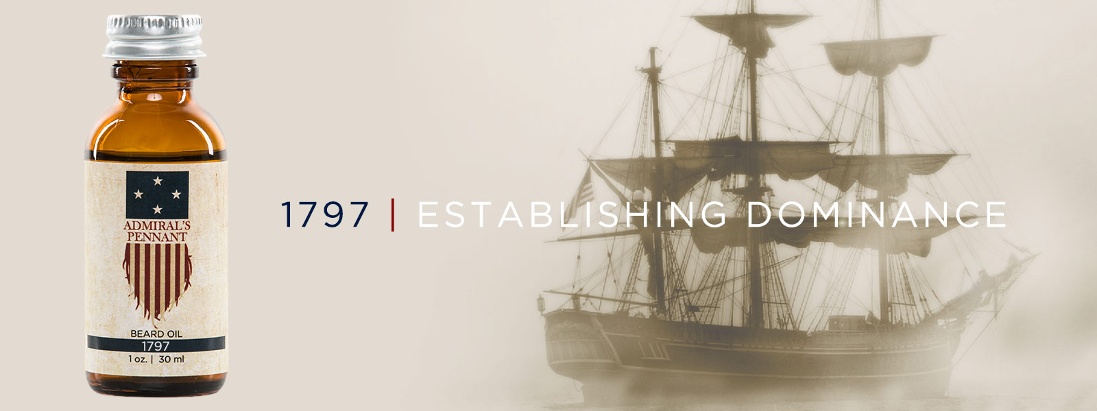 Blend 1797 | Admiral's Pennant Beard Oil