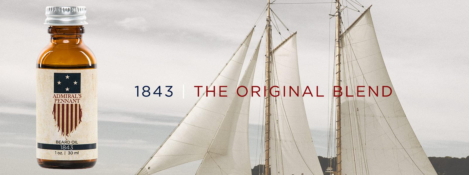 Blend 1843 | Admiral's Pennant Beard Oil