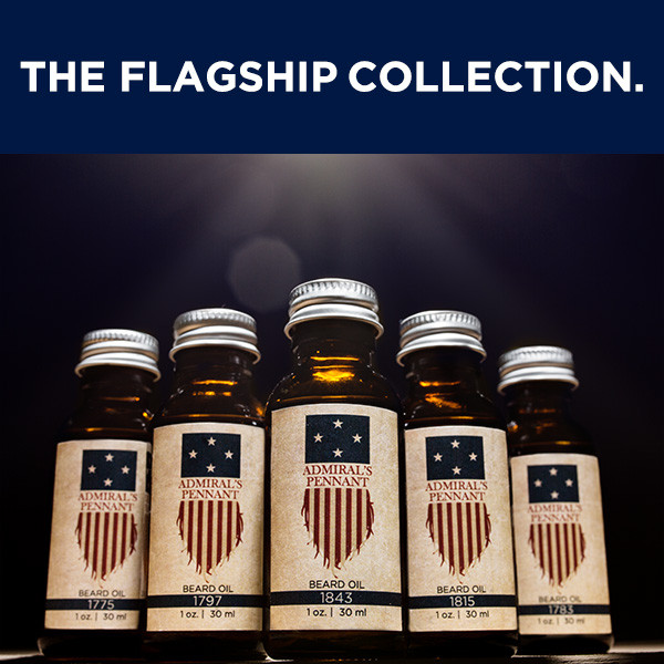 The Flagship Collection | Admiral's Pennant Beard Oil