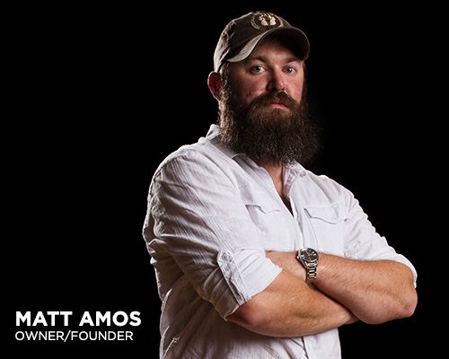 Matt Amos - Owner, Admiral's Pennant Beard Oil