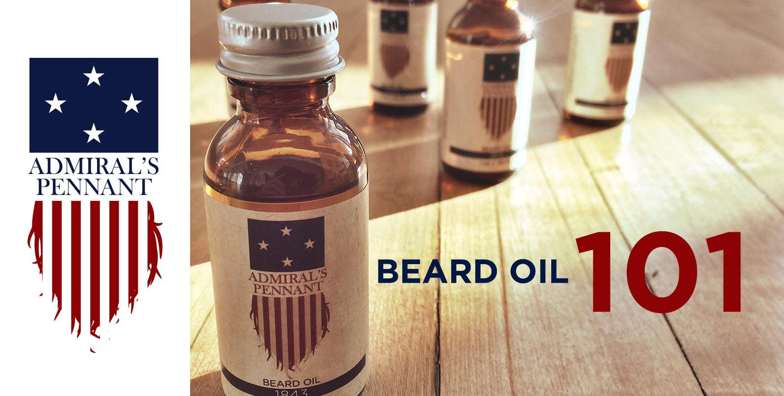 Beard Oil 101